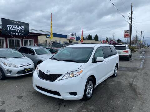2017 Toyota Sienna for sale at Tacoma Autos LLC in Tacoma WA