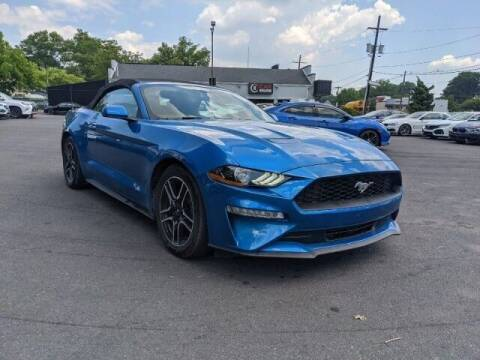 2020 Ford Mustang for sale at EMG AUTO SALES in Avenel NJ