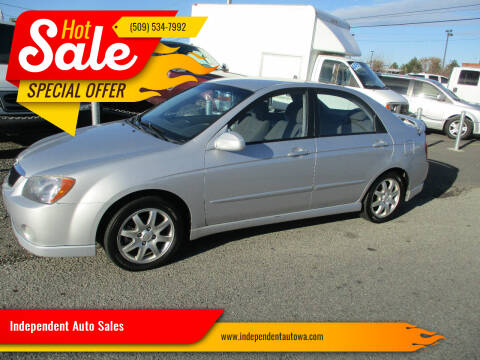 2006 Kia Spectra for sale at Independent Auto Sales #2 in Spokane WA