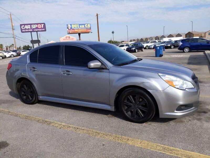 2010 Subaru Legacy for sale at Car Spot in Las Vegas NV