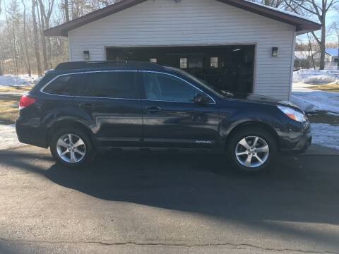 2013 Subaru Outback for sale at McLaughlin Motorz in North Muskegon MI