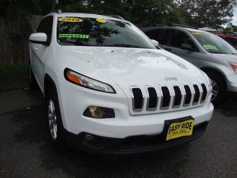 2015 Jeep Cherokee for sale at Easy Ride Auto Sales Inc in Chester VA