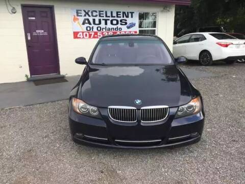 2007 BMW 3 Series for sale at Excellent Autos of Orlando in Orlando FL