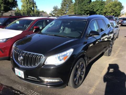 2017 Buick Enclave for sale at Royal Moore Custom Finance in Hillsboro OR