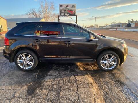 2014 Ford Edge for sale at Hill Motors in Ortonville MN