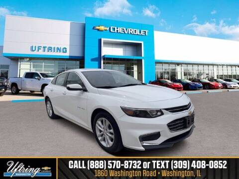 2018 Chevrolet Malibu for sale at Gary Uftring's Used Car Outlet in Washington IL