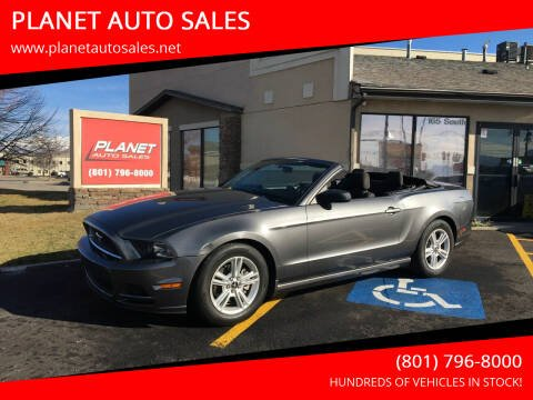 2014 Ford Mustang for sale at PLANET AUTO SALES in Lindon UT