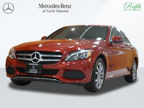 2018 Mercedes-Benz C-Class for sale at Mercedes-Benz of North Olmsted in North Olmstead OH