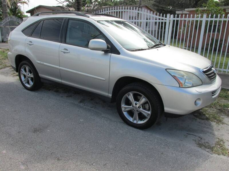 2007 Lexus RX 400h for sale at TROPICAL MOTOR CARS INC in Miami FL