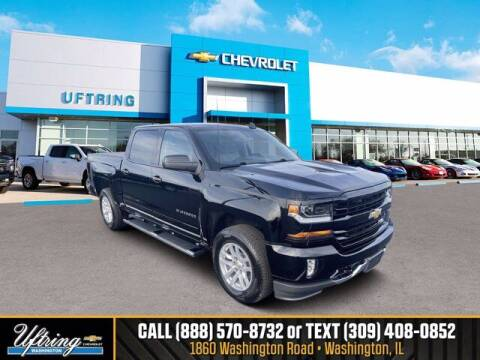 2018 Chevrolet Silverado 1500 for sale at Gary Uftring's Used Car Outlet in Washington IL