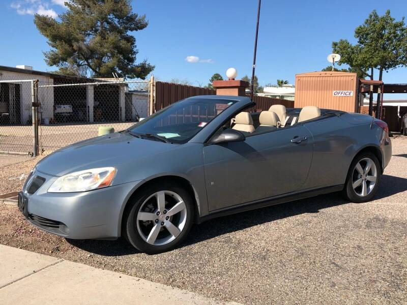 2007 Pontiac G6 for sale at All Brands Auto Sales in Tucson AZ