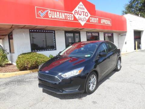 2018 Ford Focus for sale at Oak Park Auto Sales in Oak Park MI