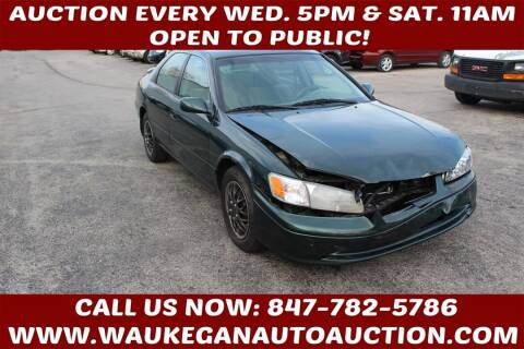 2000 Toyota Camry for sale at Waukegan Auto Auction in Waukegan IL