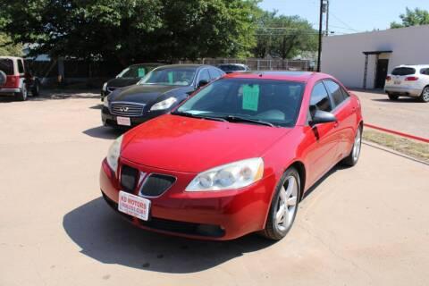 2006 Pontiac G6 for sale at KD Motors in Lubbock TX