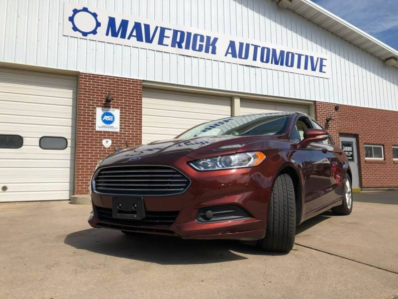 2016 Ford Fusion for sale at Maverick Automotive in Arlington MN