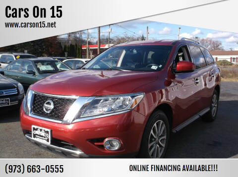 2016 Nissan Pathfinder for sale at Cars On 15 in Lake Hopatcong NJ