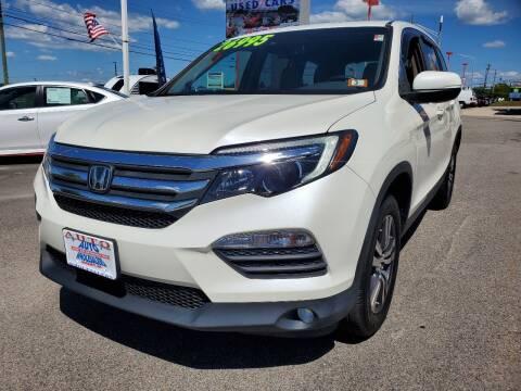 2016 Honda Pilot for sale at Auto Wholesalers Of Hooksett in Hooksett NH