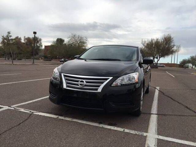 2015 Nissan Sentra for sale at Hotline 4 Auto in Tucson AZ