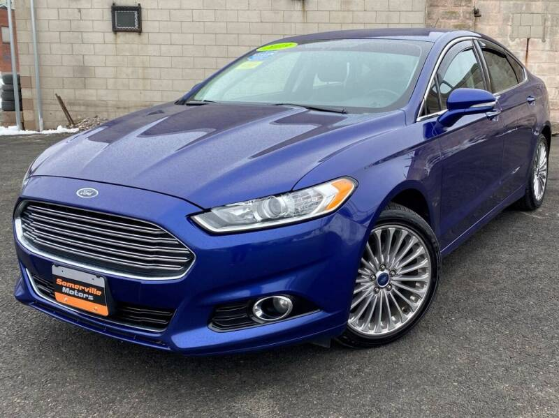 2013 Ford Fusion for sale at Somerville Motors in Somerville MA