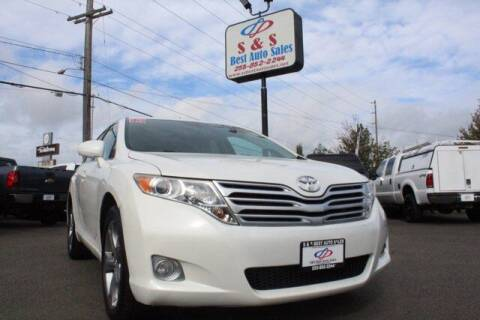 2012 Toyota Venza for sale at S&S Best Auto Sales LLC in Auburn WA