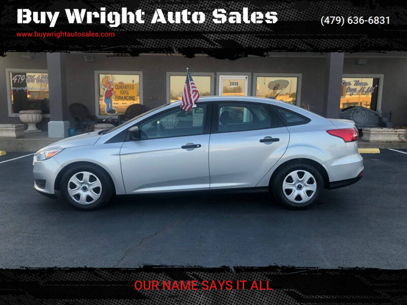 2016 Ford Focus for sale at Buy Wright Auto Sales in Rogers AR