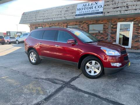 2010 Chevrolet Traverse for sale at Allen Motor Company in Eldon MO