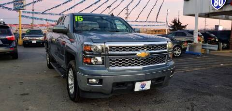 2015 Chevrolet Silverado 1500 for sale at I-80 Auto Sales in Hazel Crest IL