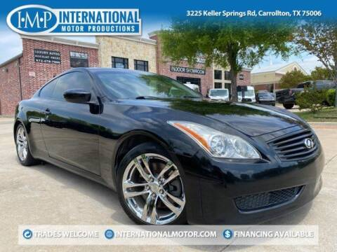 2009 Infiniti G37 Coupe for sale at International Motor Productions in Carrollton TX