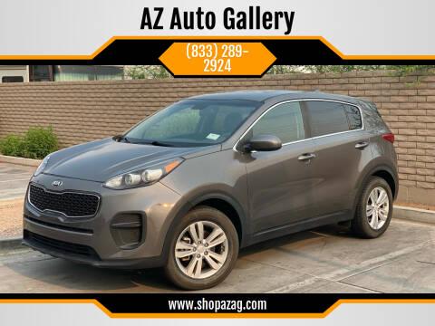 2017 Kia Sportage for sale at AZ Auto Gallery in Mesa AZ