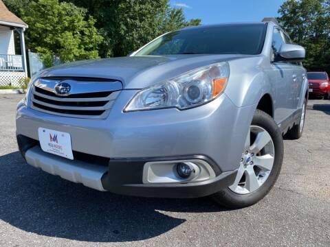 2012 Subaru Outback for sale at Mega Motors in West Bridgewater MA