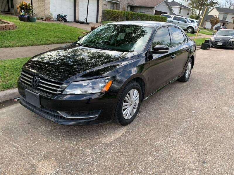 2014 Volkswagen Passat for sale at Demetry Automotive in Houston TX