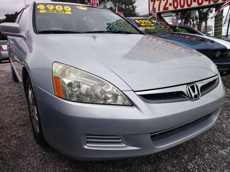 2006 Honda Accord for sale at AFFORDABLE AUTO SALES OF STUART in Stuart FL