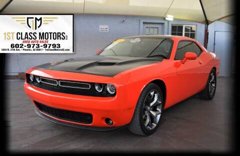 2016 Dodge Challenger for sale at 1st Class Motors in Phoenix AZ