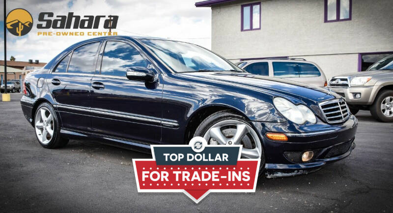 2005 Mercedes-Benz C-Class for sale at Sahara Pre-Owned Center in Phoenix AZ