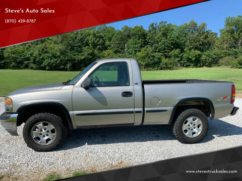 2002 GMC Sierra 1500 for sale at Steve's Auto Sales in Harrison AR