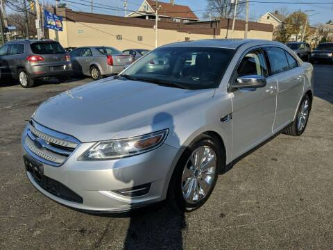 2010 Ford Taurus for sale at Richland Motors in Cleveland OH