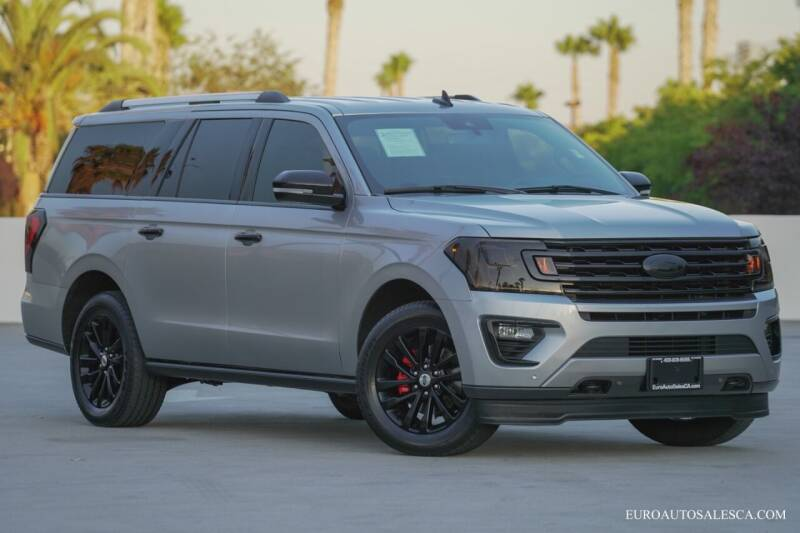 2020 Ford Expedition MAX for sale at Euro Auto Sales in Santa Clara CA
