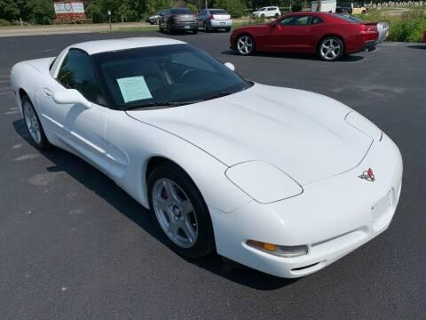 1998 Chevrolet Corvette for sale at Hillside Motors in Jamestown KY
