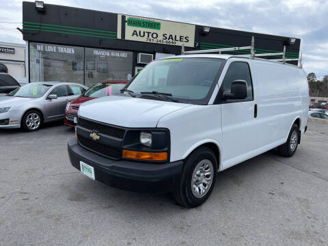 2011 Chevrolet Express Cargo for sale at Wakefield Auto Sales of Main Street Inc. in Wakefield MA