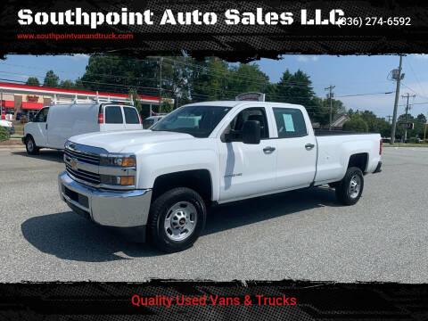 2016 Chevrolet Silverado 2500HD for sale at Southpoint Auto Sales LLC in Greensboro NC