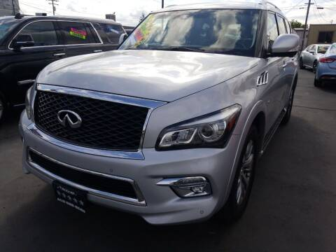2015 Infiniti QX80 for sale at 5 Star Auto Sales in Modesto CA