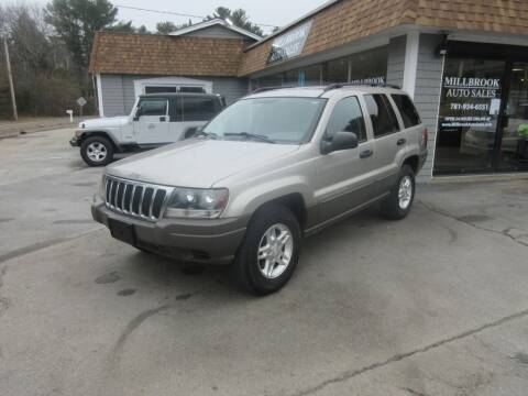 2003 Jeep Grand Cherokee for sale at Millbrook Auto Sales in Duxbury MA