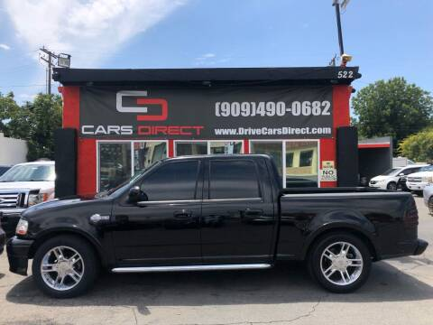 2002 Ford F-150 for sale at Cars Direct in Ontario CA