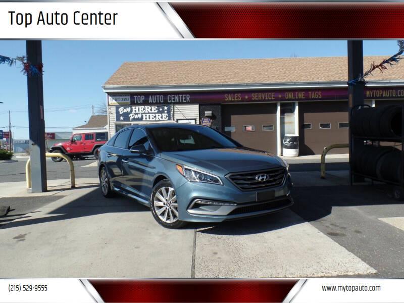 2015 Hyundai Sonata for sale at Top Auto Center in Quakertown PA