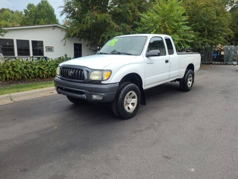 2002 Toyota Tacoma for sale at TR MOTORS in Gastonia NC