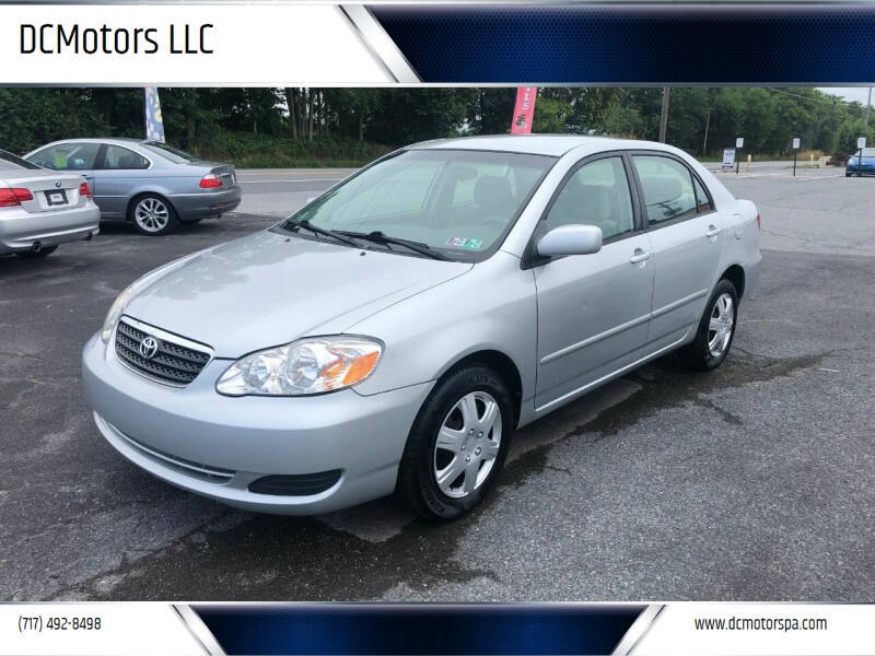 2005 Toyota Corolla for sale at DCMotors LLC in Mount Joy PA