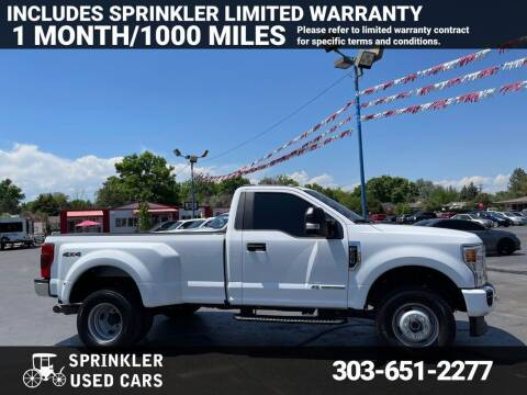 2020 Ford F-350 Super Duty for sale at Sprinkler Used Cars in Longmont CO