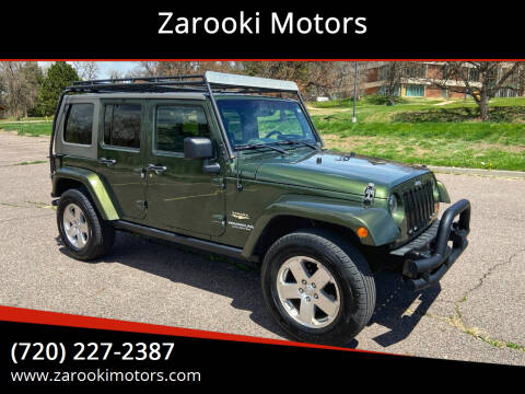 2009 Jeep Wrangler Unlimited for sale at Zarooki Motors in Englewood CO