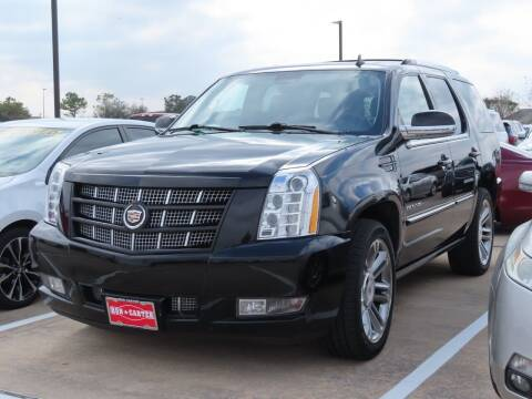 2014 Cadillac Escalade for sale at Ron Carter  Clear Lake Used Cars in Houston TX