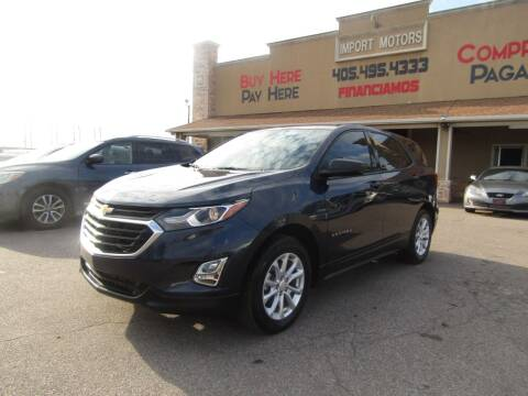 2018 Chevrolet Equinox for sale at Import Motors in Bethany OK